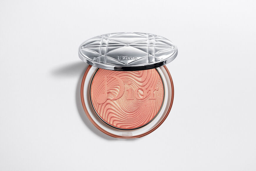 Dior - Diorskin Nude Luminizer Glow Vibes - Limited Edition Highlighter - shimmering glow powder - sparkling pigment-infused Open gallery