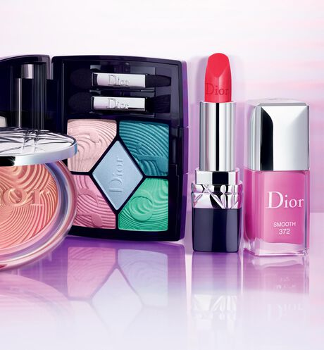 Dior - Dior Vernis - édition limitée collection Glow Vibes - 446 Perfect Peach - 5