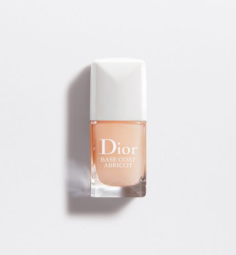 Dior - Base Coat Abricot Base - soin fortifiant & durcisseur ongles
