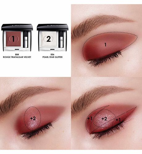 Dior - Mono Couleur Couture High-colour eyeshadow - long-wear spectacular finish - 63 Open gallery