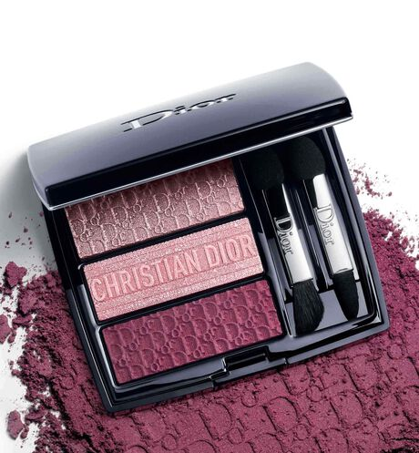 Dior - 3 Couleurs Tri(O)blique - Limited Edition Couture eyeshadow - trio of colours & effects - limited edition