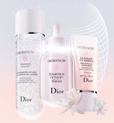 Dior - Diorsnow Ultimate UV Shield Tone Up Skin-breathable brightening emulsion - tinted skincare - spf 50+ pa+++ - 3 Open gallery