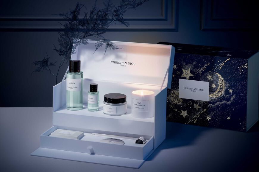Dior - Lucky Luxury Set Art of living gift set - fragrances, body cream, soap, candle and accessories Open gallery