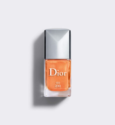 Dior - Dior Vernis - Color Games Collection Limited Edition Nail lacquer - scented nail lacquer - couture colour manicure - gel shine and long wear