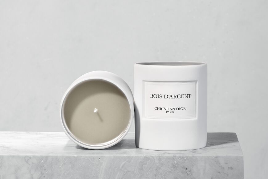 Dior - Bois D'argent Candle Open gallery