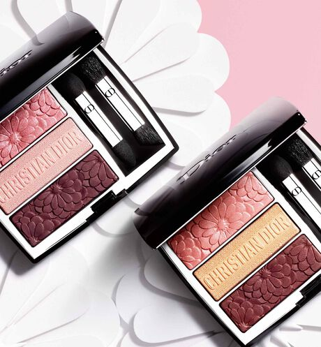Dior - 3 Couleurs Tri(O)blique - Pure Glow Collection Limited Edition Makeup palette - 3 eyeshadows - trio of colours and effects - 2 Open gallery