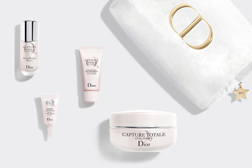 Dior - Capture Totale Exclusive kit - face cleanser, serum, creme and eye cream - firming and wrinkle-correcting Open gallery