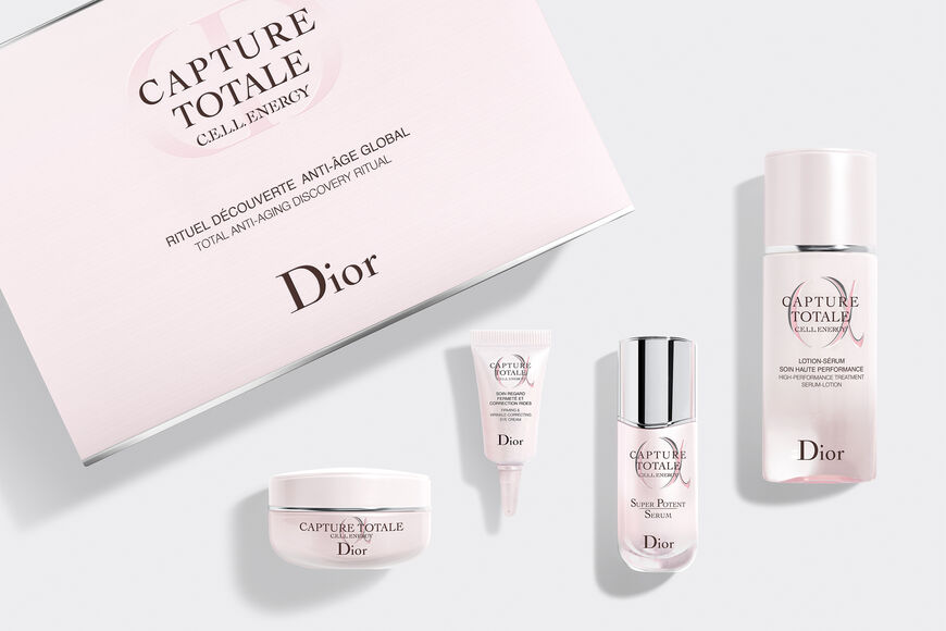 Dior - Capture Totale Discovery Set Dior's best global anti-ageing moisturising skincare discovery ritual Open gallery