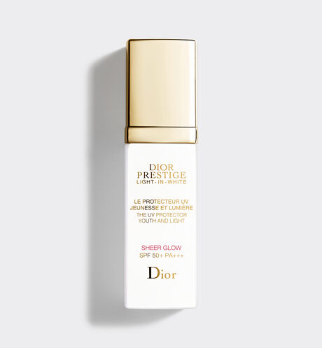 Dior - Dior Prestige Light-in-White El protector UV juventud y luminosidad - Sheer Glow SPF 50+ PA+++