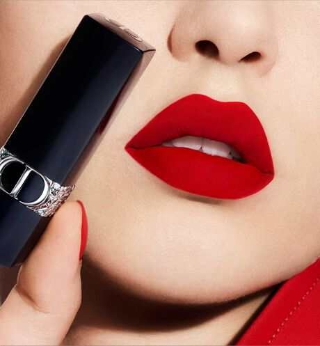 Dior - Rouge Dior - Limited Star Edition Jewel lipstick - engraved stars motif - velvet & metallic finishes - 12 Open gallery