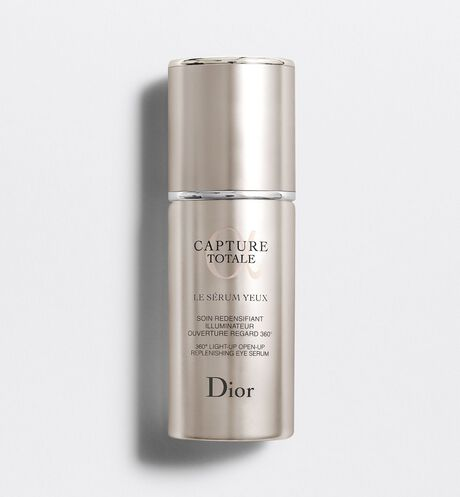 Dior - Capture Totale 360° light-up open-up replenishing eye serum