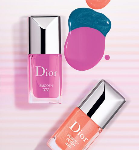 Dior - Dior Vernis - édition limitée collection Glow Vibes - 446 Perfect Peach - 3