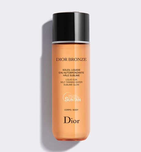 Dior - Dior Bronze Liquid sun - self-tanning water - sublime glow - 2 Open gallery