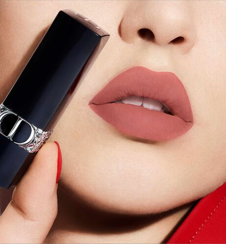 Dior - Rouge Dior - Limited Star Edition Jewel lipstick - engraved stars motif - velvet & metallic finishes - 3 Open gallery