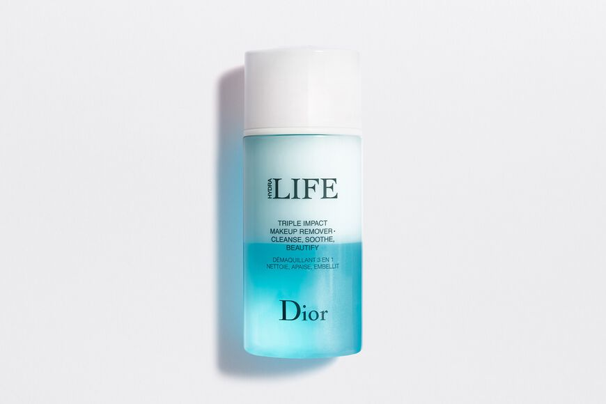 Dior - Dior Hydra Life Triple impact makeup remover • cleanse, soothe, beautify Open gallery