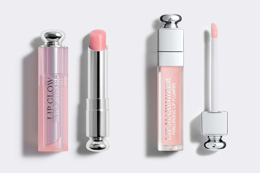 Dior - Dior Lip Glow & Dior Lip Maximizer Colour-awakening hydrating lip balm & maximum hydration instant and long-term volume effect gloss Open gallery