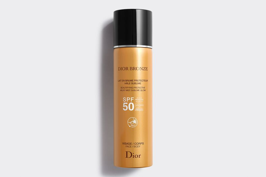 Dior - Dior Bronze Beautifying protective milky mist sublime glow spf 50 Open gallery