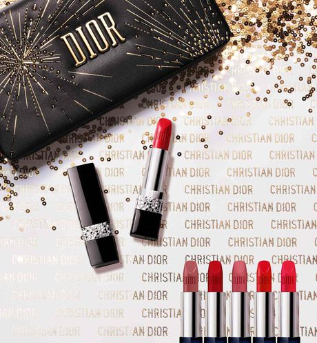 Dior - Rouge Dior Couture Collection - limited edition Refillable jewel lipstick edition - 2 Open gallery