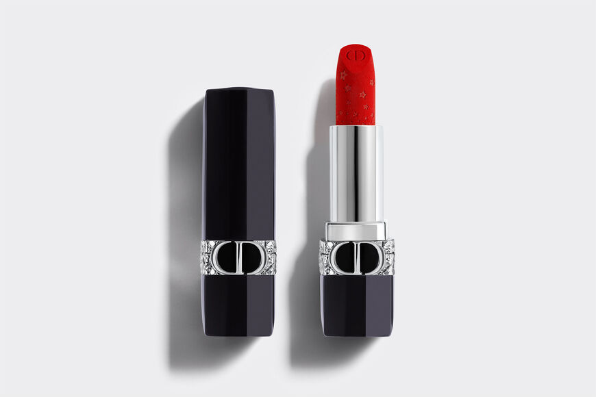 Dior - Rouge Dior - Limited Star Edition Jewel lipstick - engraved stars motif - velvet & metallic finishes - 10 Open gallery