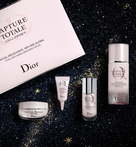 Dior - Capture Totale Discovery Set Dior's best global anti-ageing moisturising skincare discovery ritual