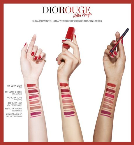 Dior - Rouge Dior Ink Lip Liner Contour felt-pen liner - ultra-pigmented long wear - 12 Open gallery