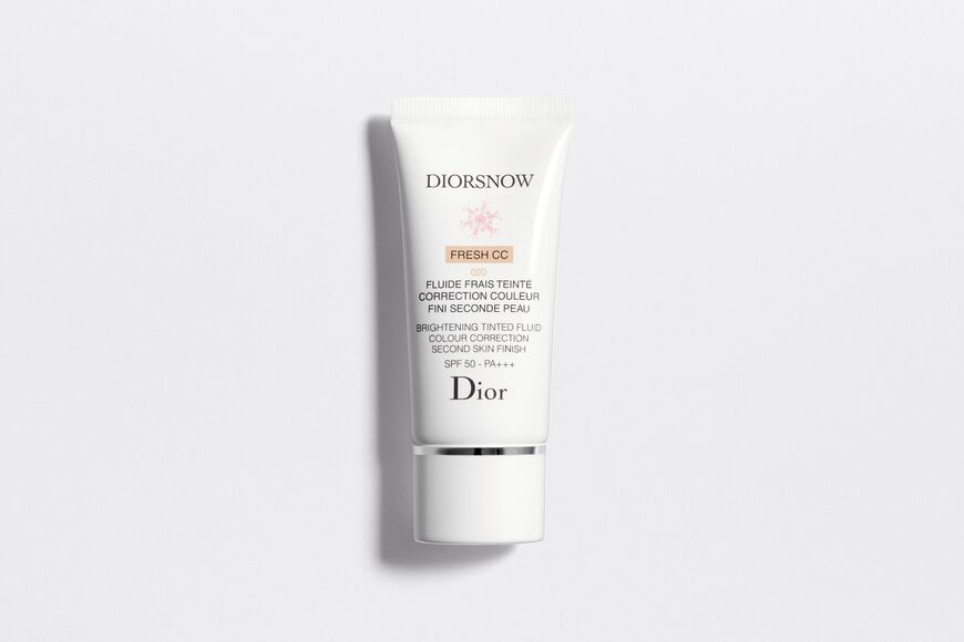 Dior - Diorsnow Brightening tinted fluid colour correction second skin finish spf50 – pa+++ - 2 Open gallery