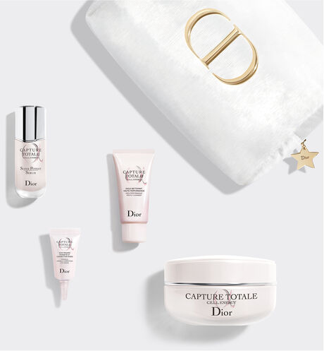 Dior - Capture Totale Exclusive kit - face cleanser, serum, creme and eye cream - firming and wrinkle-correcting