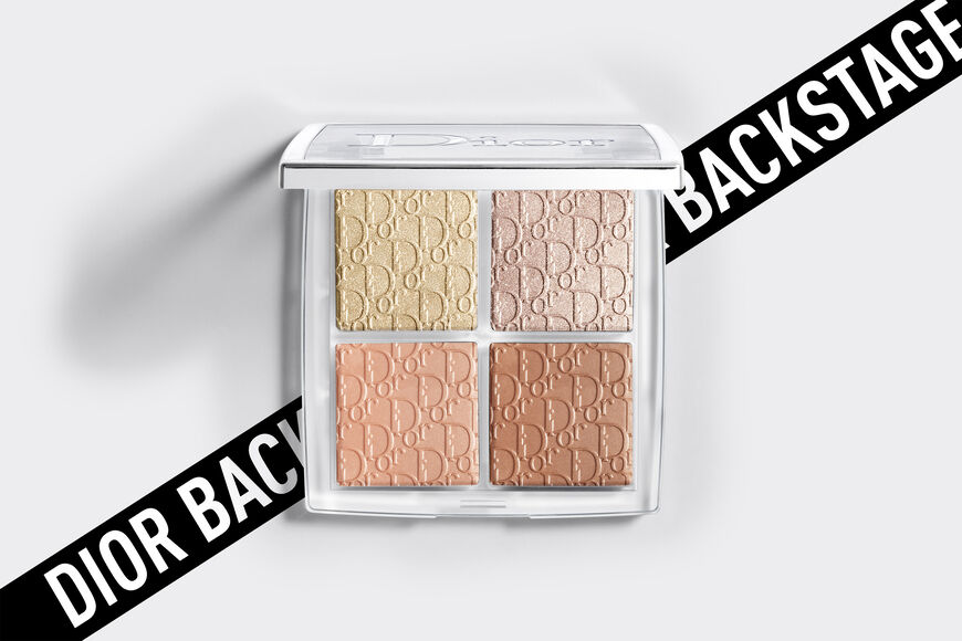 Dior - Dior Backstage Glow Face Palette Professional performance - pure shimmer, blendable - highlight & blush - 5 Open gallery