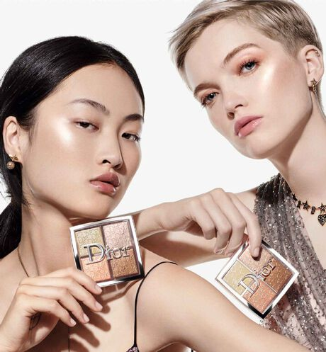 Dior - Dior Backstage Glow Face Palette Professional performance - pure shimmer, blendable - highlight & blush - 10 Open gallery