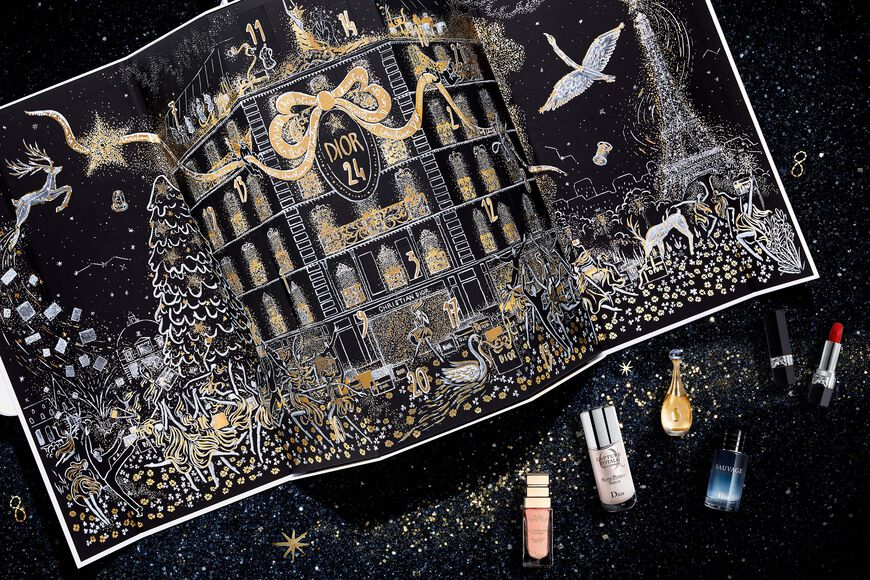 Dior - Advent Calendar 24 dior surprises - beauty advent calendar - fragrance, makeup and skincare Open gallery