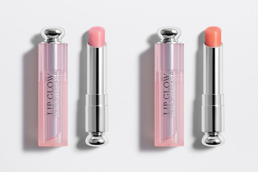 Dior - Dior Lip Glow Colour-awakening - hydrating lip balm - duo set Open gallery