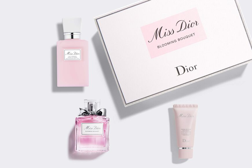 Dior - Miss Dior Fragrance set - eau de toilette - body milk - hand cream Open gallery