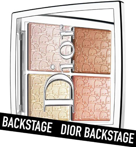 Dior - Dior Backstage Glow Face Palette Professional performance - pure shimmer, blendable - highlight & blush - 6 Open gallery