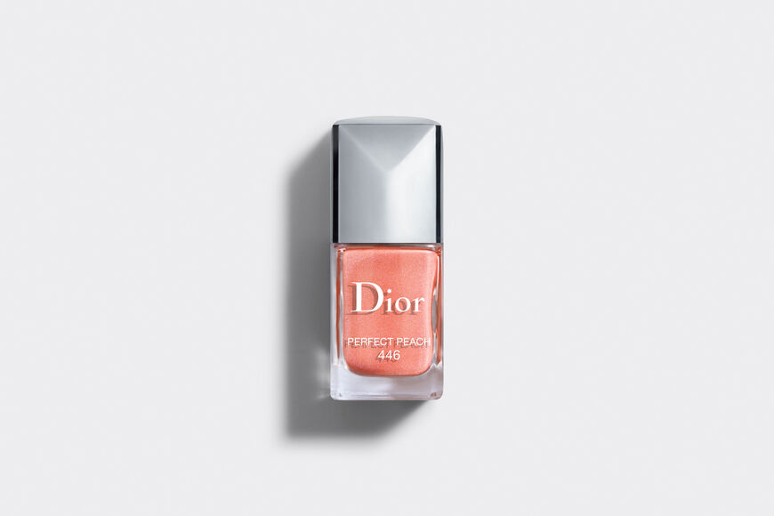 Dior - Dior Vernis - édition limitée collection Glow Vibes - 446 Perfect Peach