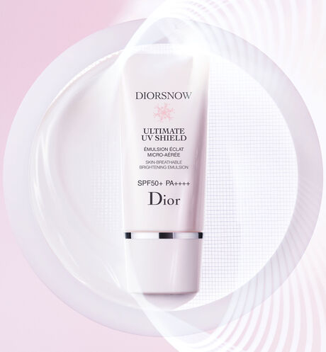 Dior - Diorsnow - Ultimate UV Shield Skin-breathable brightening emulsion - spf 50+ pa++++